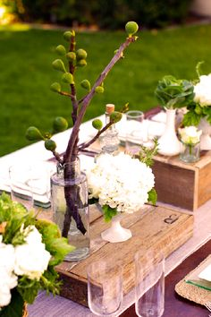 table setting outdoor soiree figs, woods, and whites: wine and cheese dinner by Canvas and Canopy