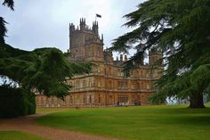 Highclere Castle, the real Downton Abby. Plenty of parking and special spaces for Motorhomes and campervans.
