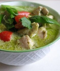 Thai-Green-curry - my speciality dish. I enjoy cooking it as much as I do eating it.