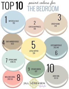 My TOP 10 paint colors for the BEDROOM (that will help you sleep) Paint Color Schemes, House Color Schemes, Interior Paint Colors, Paint Colors For Home, Beach House Colors, Coastal Paint Colors, Coastal Color Palettes, Valspar Paint Colors, Popular Paint Colors