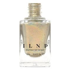 Cozy Mittens  Light Grey Holographic Nail Polish by ilnpbrand