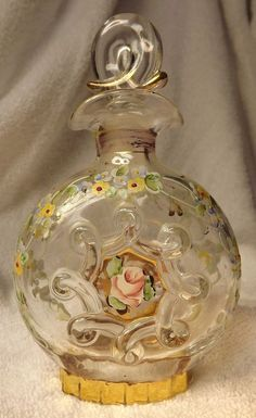 Antique Czech Perfume Bottles