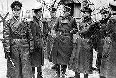 Inspection of readiness of frontier troops. Erwin Rommel, Field Marshal, Germany Ww2, Afrika Korps, Troops, Soldiers, North Africa, World War Two, Wwii
