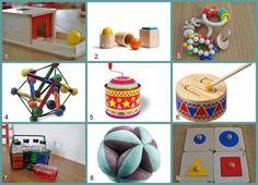 Jeux et matériel pour les 7-8 mois — Le Petit Montessori