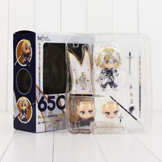 10cm Nendoroid 650 Fate Grand Order Ruler Jeanne d'Arc Action Figure With Weapon Model Toy
