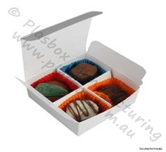 Chocolate box 4 Cavity White