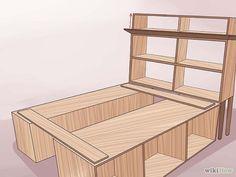 homemade bed frames wood | Build a Wooden Bed Frame Step 28.jpg