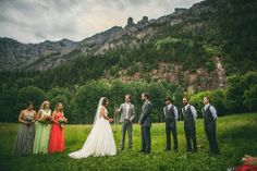Ouray Wedding - Jen and Eric - Beaumont Hotel Beaumont Hotel, Hotel Wedding Venues, Bridesmaid Dresses, Wedding Dresses, Every Girl, Mountain, Weddings, Patterns, Colors
