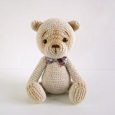 Ravelry: Classic amigurumi teddy bear pattern by Kristi Tullus