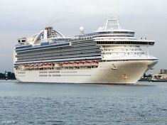 Princess Cruise Line's Crown Princess (Southern Caribbean cruise)