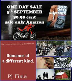 Dog Days of Summer - On Sale for one day only September 5, 2014  myBook.to/DogDaysofSummer    He had love and passion to give, but she was afraid to take it.