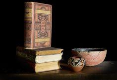 Books, Bowls, Still Life