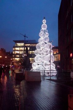 Christmas In Manchester, England, UK -  (by Mickaul on Flickr)