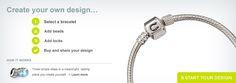 Design your own Chamilia bracelet. We carry Chamilia beads!