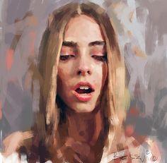How To Oil Painting Portrait Digital Portrait, Portrait Art, Portraits, Figure Painting, Painting & Drawing, Art Alevel, Cindy Sherman, Art Drawings, Illustration