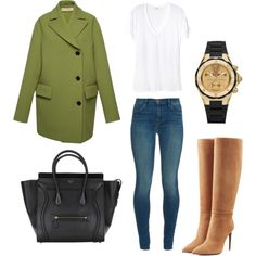 Untitled by cikruit on Polyvore featuring polyvore, fashion, style, Monrow, Marni, J Brand, Ralph Lauren Collection and Michele