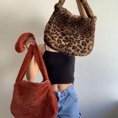 Aesthetic Bags, Aesthetic Clothes, Faye Bag, Leopard Print Bag, Vintage Bags, Vintage Purses, Vintage Shoes, Indie Outfits, Cute Bags