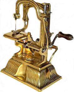 The Tabitha sewing machine 1886-1890.