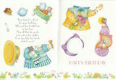Kitty Friend Greeting Paper Doll Card Rare Uncut Vintage Birthday | eBay