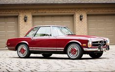 1970 Mercedes-Benz 280 SL Maintenance/restoration of old/vintage vehicles: the material for new cogs/casters/gears/pads could be cast polyamide which I (Cast polyamide) can produce. My contact: tatjana.alic@windowslive.com