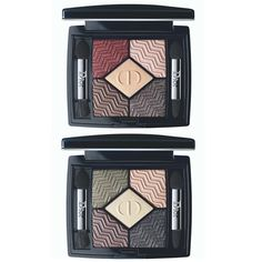 Dior State of Gold Makeup Collection for Holiday 2015 | Dior 5 Couleurs State of Gold Eyeshadow Palettes -      Blazing Gold #886     Eternal Gold #576