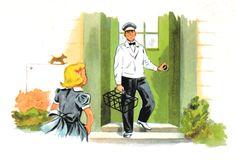 The Milkman, 1950s