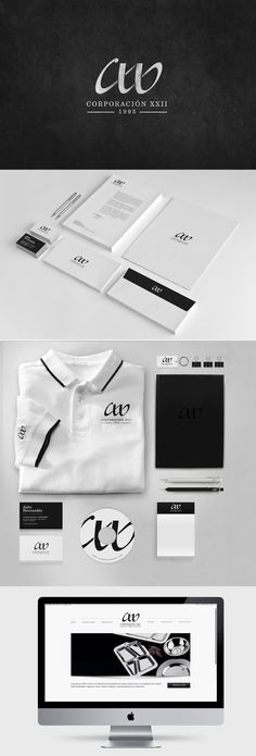 identity / CXXII | #stationary #corporate #design #corporatedesign #identity #branding #marketing < repinned by www.BlickeDeeler.de | Take a look at www.LogoGestaltung-Hamburg.de
