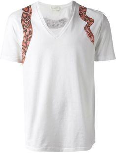 Alexander McQueen snake print t-shirt on shopstyle.com