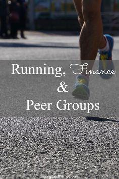 Finance, Running, and Peer Groups