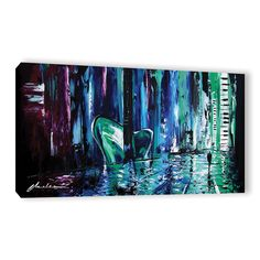 ArtWall Milen Tod 'City Of Musice' Gallery-wrapped Canvas