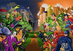 DC Universe on Behance