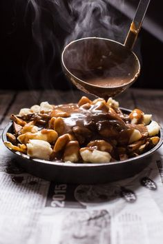 Authentic Canadian Poutine, unadulterated pleasure at its best! Find this recipe and more at halfbakedharvest.com