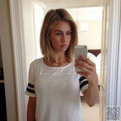 20. Bob with Body - Sick of #Having Long Hair? #Check out These Long Bob Inspos Now! → Hair #Inspos