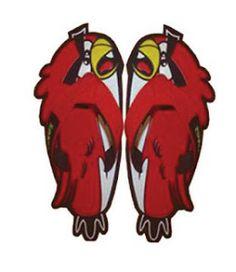 Sandal Lucu Murah Model angry bird Dengan pilihan warna menarik dan 3 lapisan karet tebal antis slip sangat aman dan nyaman digunakan. bahan sandal terbuat dari Spon Eva yang Empuk dan dijamin Kuat . Kualitas sandal sudah terbukti .