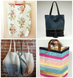 Tote bags - Selection from http://pimprelys.over-blog.com