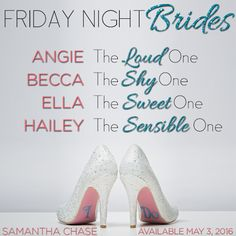 Musings with Samantha Chase: FRIDAY NIGHT BRIDES:  It's All About the Girls Tod...
