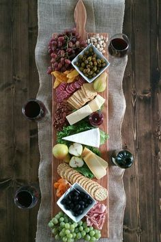 This cheese board is begging for some of your closest friends and a party. Find more entertaining essentials on Etsy.