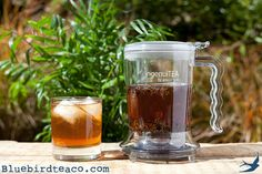 A tea brewing revolution! With an IngenuiTEA making loose leaf tea is easy! Brew, place on top of your mug and watch it filter through the bottom.