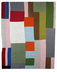 Beautiful African-American quilts - reminds me of a storybook about a lady who knitted a map of the countryside onto a quilt to help a young girl escape slavery in the south.