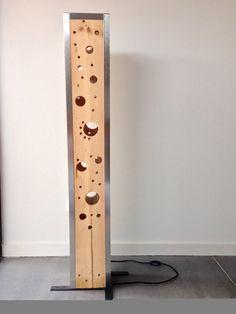 Lampe design en bois de palette recyclé by MatthieuThimonier
