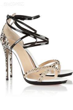 Colorful Stiletto Heel Women Sandals Stiletto Sandals