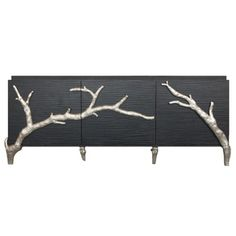 I pinned this Global Views Branch Cabinet from the sfa design event at Joss and Main!  beautiful focal piece