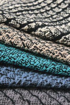 Tomasz Frasonski, Poland,   #fabric #textile #arttextile #handweaving #samples #yarn #handmade #wallhanging #fiberart  #wgsn #looms #loom