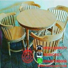 Kursi Cafe Jati Terbaru
