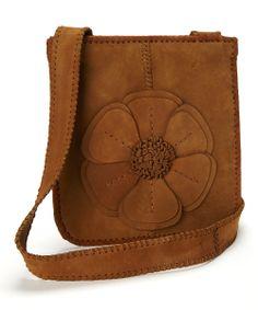 Nubuck Café Natalie Messenger Bag
