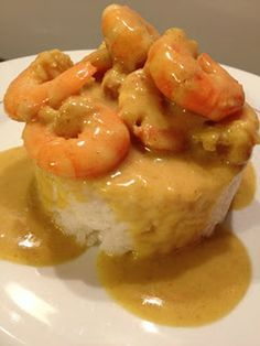 Shrimp with coconut milk and curry - Nanouk cuisine - recettes - Asian Recipes Thai Recipes, Shrimp Recipes, Asian Recipes, Mexican Food Recipes, Vegetarian Recipes, Dinner Recipes, Breakfast Recipes, Thai Food Dishes, Healthy Cooking