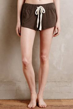 Eberjey Heather Sleep Shorts - anthropologie.com