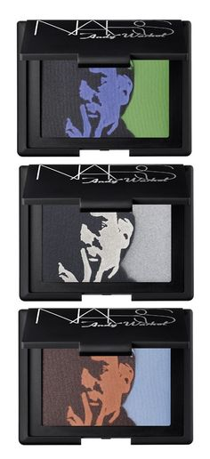 Love the smoky eye pallette from this Nars/Andy Warhol collection