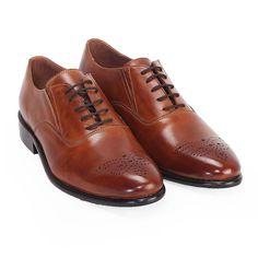 f0bad0fec6 Brune Men Tan Leather Formal Shoes