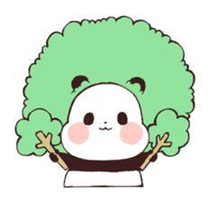 Panda Kawaii, Kawaii Chibi, Cute Panda, Panda Lindo, Baby Hamster, Line Store, Line Sticker, Cute Bunny, Easy Drawings